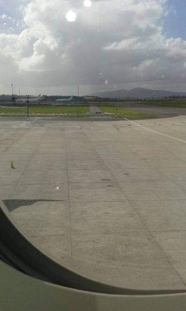Leaving Cape Town International Airport