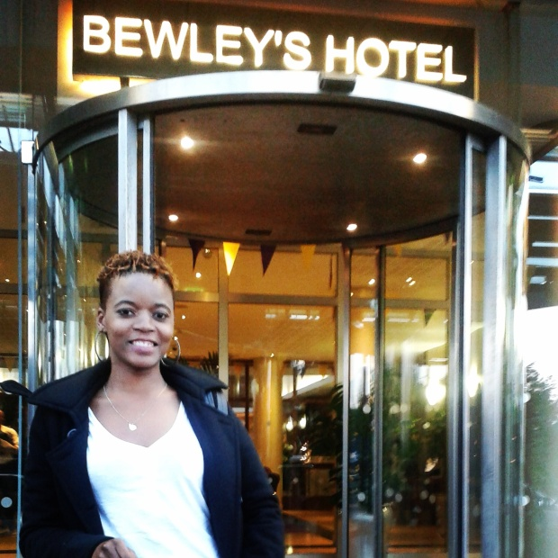 Bewley's Hotel...i mean my sponsors are quite generous I will not complain