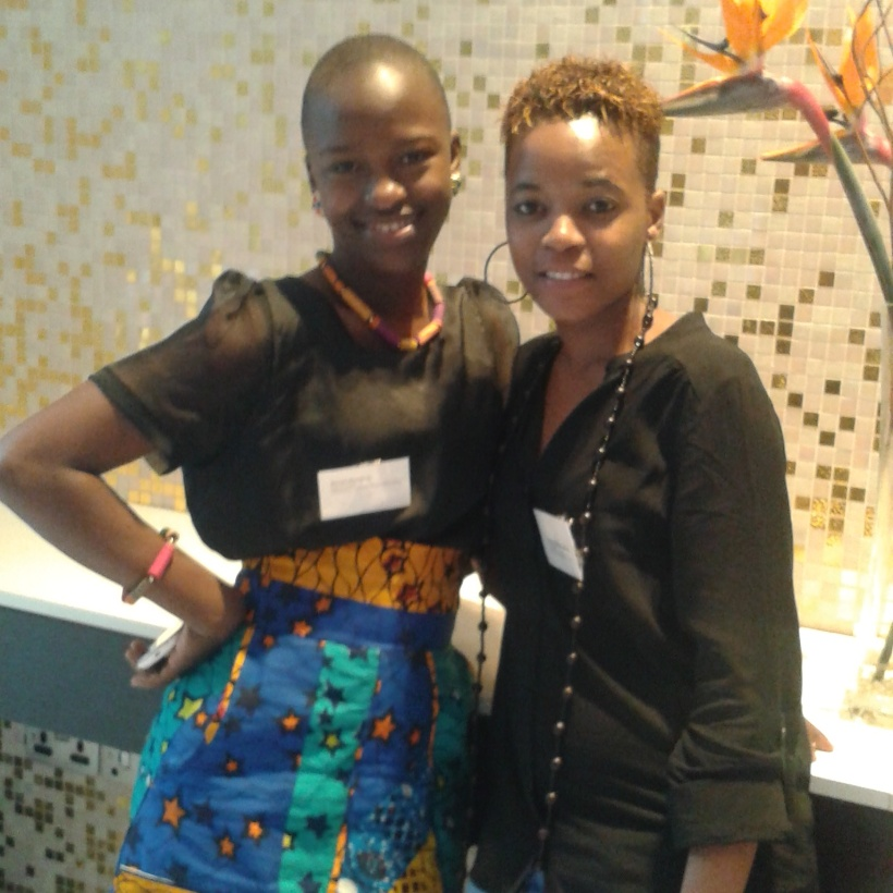With Zainab from Sierra Leone, MA Sustainable Development