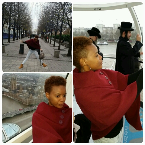 A lil bit of crazy..on the London Eye