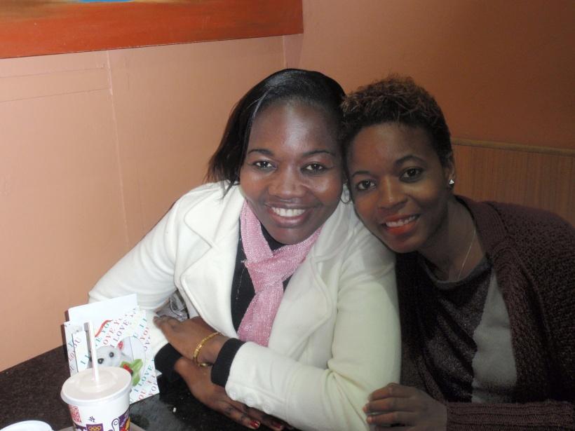 A sister, friend and spiritual mentor.
